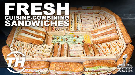 Fresh Cuisine-Combining Sandwiches - SUBWAY Restaurant Offers Game Day Snacks That Aren't Fried