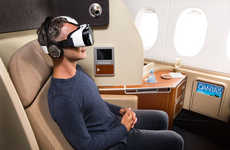 Virtual Reality Airlines - Qantas and Samsung Collaborate to Offer Virtual Reality in the Air