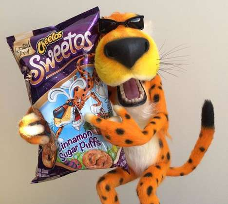 Sugary Cinnamon Snacks - Cheetos' New Cinnamon Puff Snack Goes by the Name Sweetos