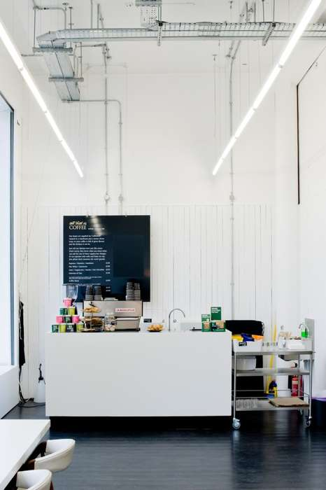 Hybrid Coffee Bars - All That is Solid's Cafe Interior Design Suits a Range of Needs