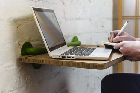 Adaptable Lap Pads - This Mobile Mountable Desk Keeps Your Compact Office on the Move