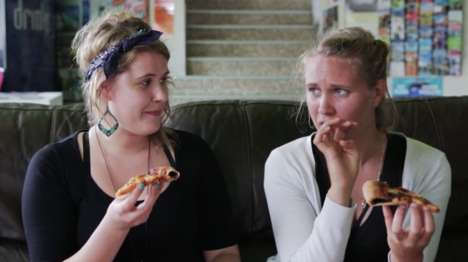 Gross-Out Pizza Ads - This Pizza Hut Commercial Has People Sample a Vegemite-Stuffed Crust