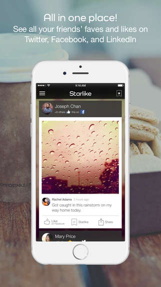 Aggregated Approval Apps - Starlike Combines Likes from All Social Networks into a Single App