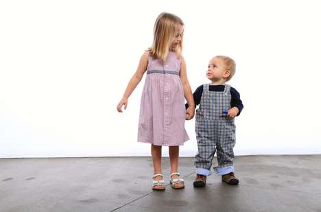 Upcycled Eco Childrenswear - Petite Marin's Eco Kids' Clothes Are Made from Old Menswear Items