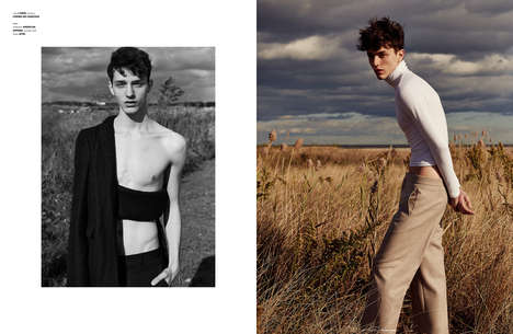 Outdoorsy Normcore Fashion - The Ones 2 Watch Boy Oh Boy Editorial is Understated and Minimalist