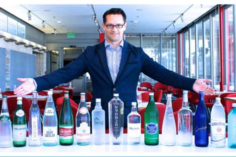 Certified Water Sommeliers - Martin Riese Hosts a Water Tasting Event at a Los Angeles Restaurant