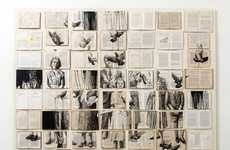 Watercolor Book Art - Ekaterina Panikanova's Literary Masterpieces Fuse Two Artistic Mediums