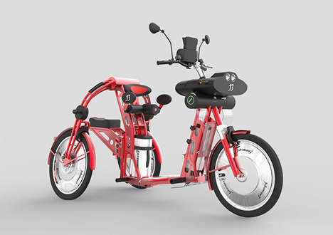 Powered Cargo Bikes - The Urban2 is Ready to Carry You and Your Many Effects Up to 28 Miles Per Hour