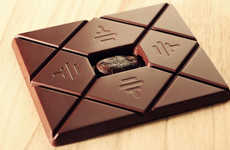 Ultra Indulgent Chocolates - This Luxury Chocolate Bar is Made from a Cacao Tree Nearing Extinction