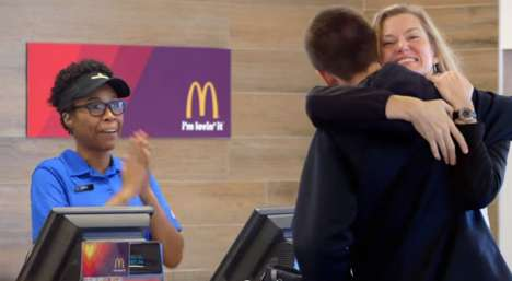 Appreciation Fast Food Payments - Mcdonald's Allows Customers to Pay with Love for Two Week Campaign