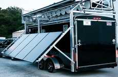 Mobile Energy Mill Generators