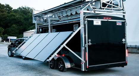 Mobile Energy Mill Generators - The MobileMill Combines Wind and Solar Power for Disaster Scenes