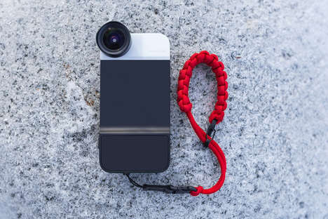 High-Performing Mobile Cases - This Camera-Enabled Phone Case Boosts Speed, Control, Lens & Mobility