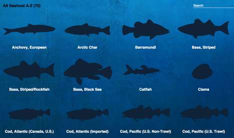 Sustainable Fish Charts - National Geographic Created Thi Seafood Decision Guide for Healthy Options
