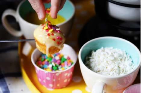 40 Examples of Desserts with Sprinkles - From Confetti Party Nachos to Birthday Cake Pancakes