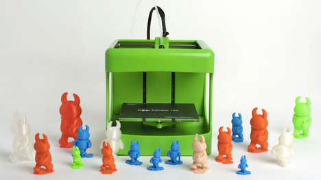 Kid-Safe 3D Printers - Bonsai Labs' 3D Printer for Kids Operates at a Lower Temperature