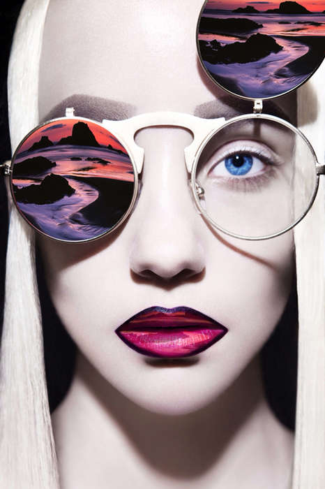 Supernatural Sensory Editorials - 'The World of the Senses' Explores a Surrealistic Realm of Being