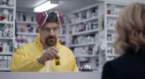Kingpin Insurance Ads - The 'Say My Name' Esurance Super Bowl Ad Stars Walter White