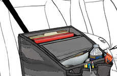 Mobile Office Car Organizers