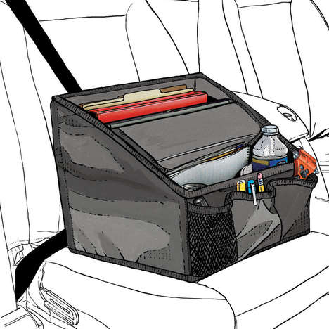 Mobile Office Car Organizers - This Auto Accessory is Made for On-the-Go Workers