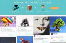 Crowdsourced Toy Platforms - PleyWorld is a Crowdsourced Toy Design Site for LEGO Playsets