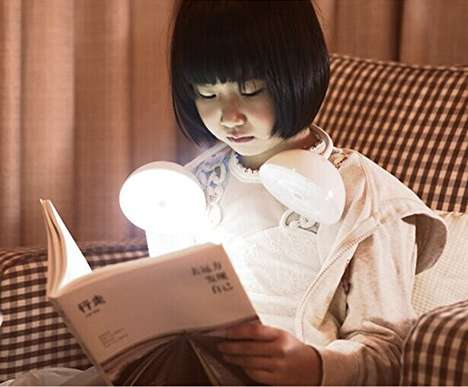 Flexible Reading Lights - This SunnyTech Adjustable Lamp is Cordless and Extremely Versatile