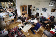 House-Sharing Workspaces - Hoffice Transforms Private Homes into Temporary Coworking Spaces