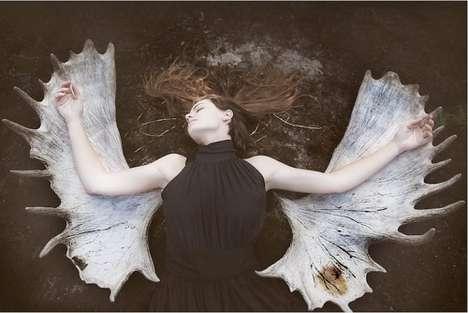 Mystical Emotive Portraits - Viktorija Raggana Captures the Magic Power of Vilnius, Lithuania