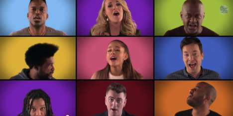 Viral Celebrity Covers - Jimmy Fallon and His Celebrity Guests Perform Acapella We are the Champions
