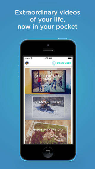 Nostalgic Video-Making Apps - The Animoto Video App Creates Clips Using Existing Photos and Videos
