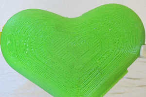 The Green Heart Contains Potassium and is Designed to Reduce Food Waste