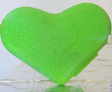Produce-Extending Gadgets - The Green Heart Contains Potassium and is Designed to Reduce Food Waste