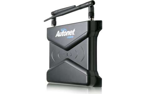 Automotive Travel Routers - Autonet Mobile Turns Your Car into a Roving Wi-Fi Hub