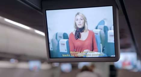 Familial Safety Videos - TAM Airlines' Safety Videos Star Travelers' Loved Ones