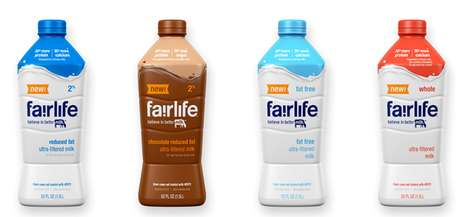 Soft Drink Dairy Makeovers - Coca-Cola Released a Line of Premium Milk Beverages with Extra Benefits