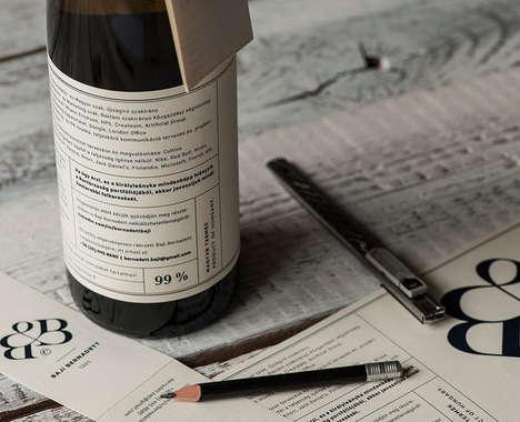 Wine Bottle Resumes