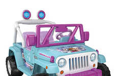 Disney Toy Vehicles - The Frozen Jeep Wrangler Gives Young Fans an Adventurous Spin