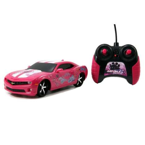 Feminine Remote-Control Cars - Just Girls Creates a Battery-Powered Camero for the Fairer Gender
