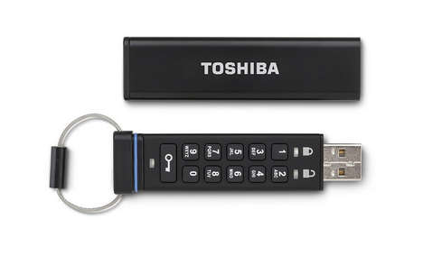Password-Protected Thumbdrives - Encrypted Flash Drive Only Lets You Access Files with the Right PIN