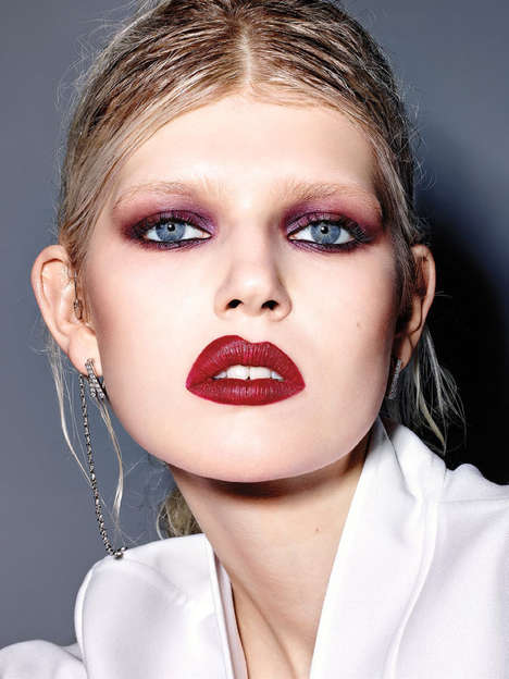 Beauty Blunder Editorials - Ola Rudnicka Stars in the February Issue of Vogue Italia