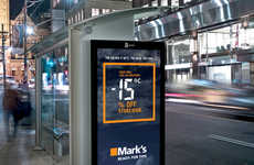 Mark's Interactive Advertisements Announce Better Sales with Colder Weather