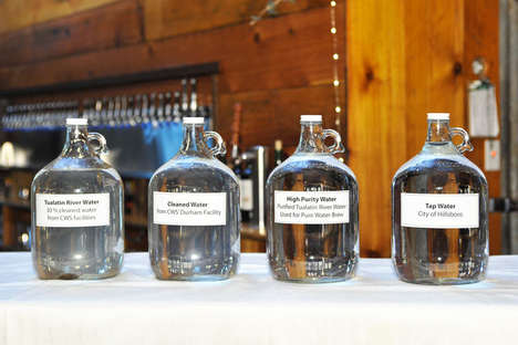 Wastewater-Brewed Beers - Purified Wastewater is Apparently Better for Brewing Craft Beers