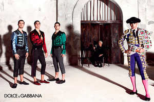 The Latest Dolce and Gabbana Menswear Campaign is Cultural