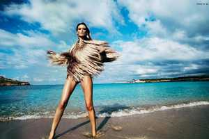 Tantalum Magazine's Ibizenca Story Stars Jelena Kovacic