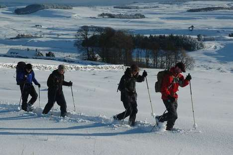 Arctic Snowshoe Tours - Northumberland x Pin Point Adventure Offer a New Way to See Hadrian's Wall