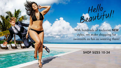 Full-Figured Swimsuit Ads - Ashley Graham is the First Plus-Sized Model in Sports Illustrated
