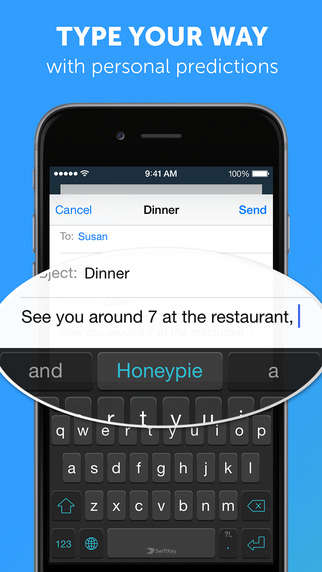 Predictive Keyboard Apps - Swiftkey Anticipates What Words and Emojis You Will Want to Use