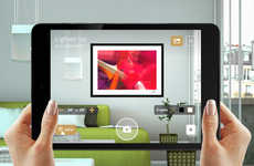 Augmented Art Apps - Curioos' App Simulates How a Piece of Art Will Look Hanging in Your Home
