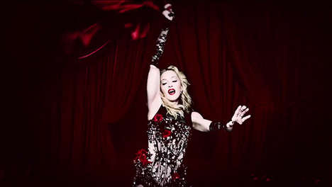 Video Sharing Music Premieres - Madonna's Brand New Music Video Premiered on Snapchat
