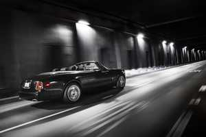 The Rolls-Royce Phantom Drophead 'Nighthawk' is Inspired By Stealth Aircraft